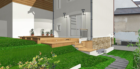 photo de renovation architecturale